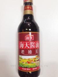 Соевый соус тёмный Хайтянь, 500мл 老抽王