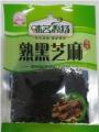 Кунжутное семя черное, 25гр.味名远扬熟黑芝麻