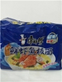 Лапша быстрого приготовления 鲜虾5连包袋面
